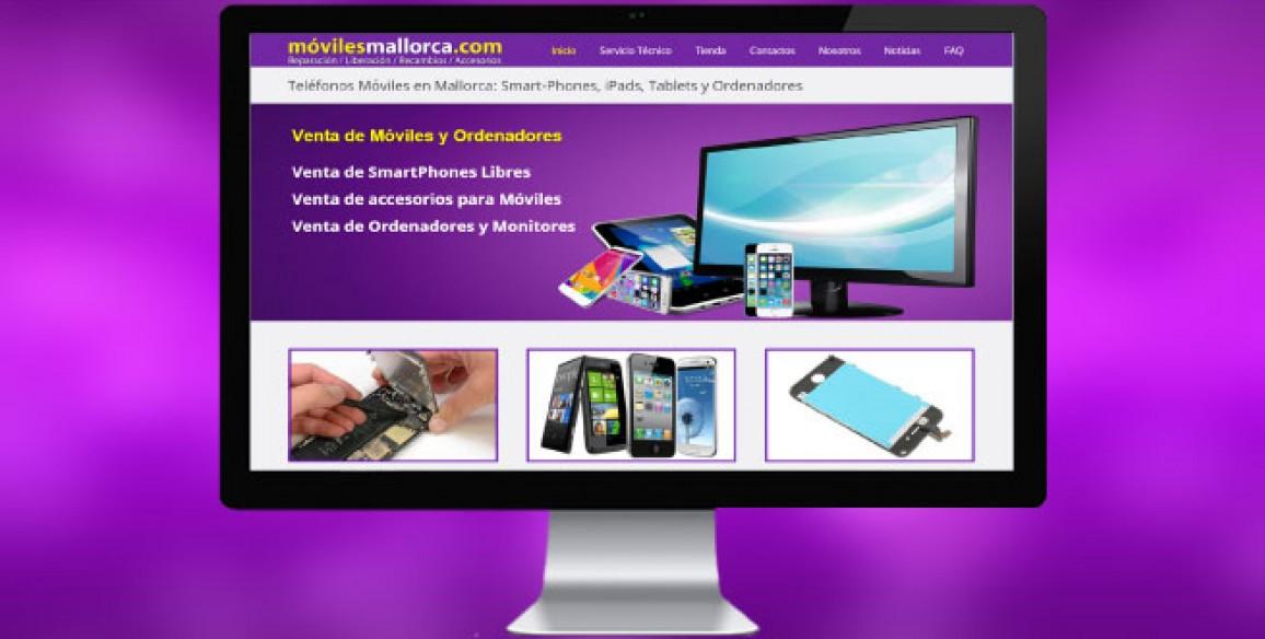 Diseño de Sitio Web de Empresa en Mallorca con Posicionamiento Web Orgánico.