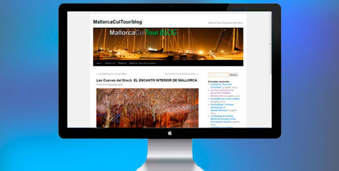 Diseño Web, SEO y Marketing Online (Mallorca): Diseño de Web/Blog Corporativo