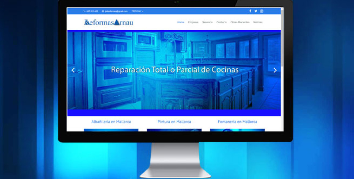 Página Web Profesional en Mallorca (Creación de Página Web en Mallorca)